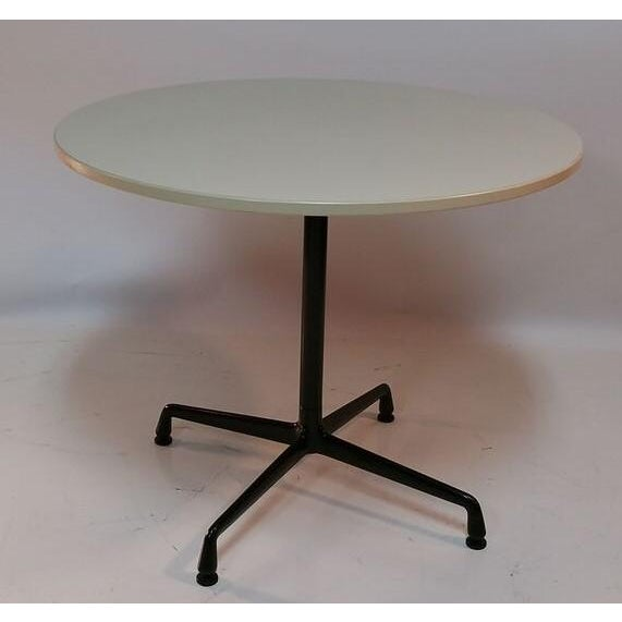 Herman Miller Cafe Table - Image 2 of 4