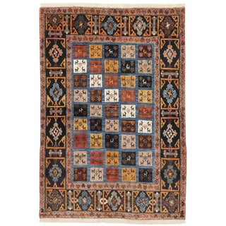 """Hand Knotted Persian Tribal Rug - 3'5""""x 4'10"""""""