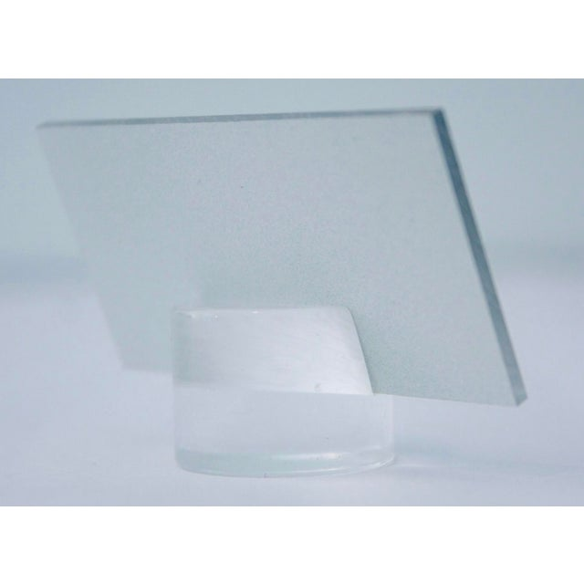 1960s Lucite Dinner Place Cards with Stands - Set of 16 - Image 8 of 10