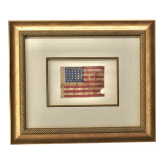 Antique 34 Star Flag For Sale
