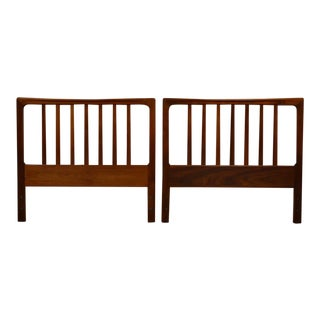 Swedish Teak Dux Headboards- a Pair For Sale