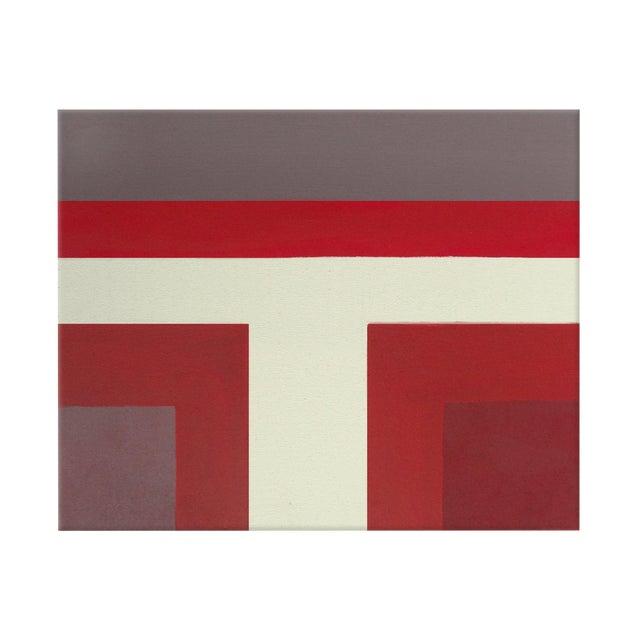 Ron Burgundy No. 1 Acrylic on Canvas - Image 1 of 4
