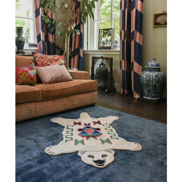 Doing Goods Kasbah Polar Bear Rug Large For Sale - Image 4 of 6