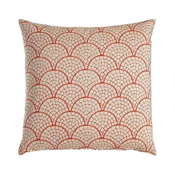 John Robshaw Laal Coral Pillow - Image 1 of 2