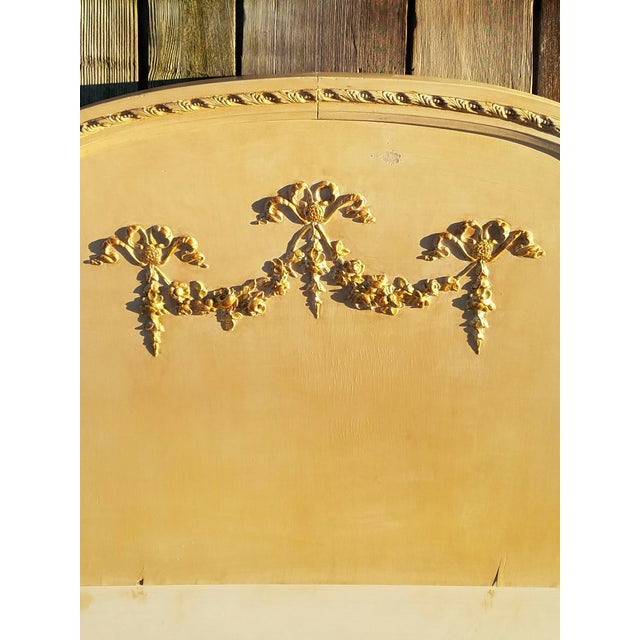 Antique Neoclassical Single Headboard - Image 3 of 5