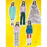 Image of Manuel Santelices, Alessandro Michelle yellow , 2020, Unframed For Sale