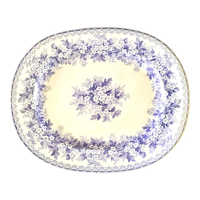 Antique Staffordshire England Platter For Sale