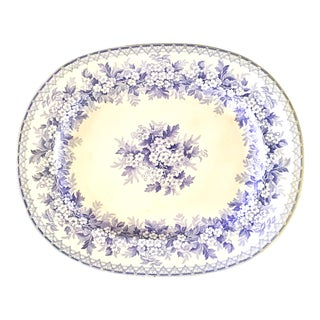 Lavender Staffordshire England Tray For Sale
