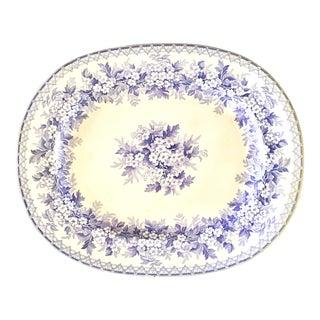 Purple Staffordshire England Platter