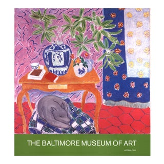 Henri Matisse, Interior With Dog, Offset Lithograph, Edition: 1000, 2005 For Sale