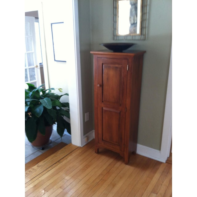Ethan Allen Solid Maple Jelly Cabinet - Image 5 of 5