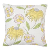Image of Schumacher X Celerie Kemble Bouquet Toss Pillow in Pink Lemonade For Sale