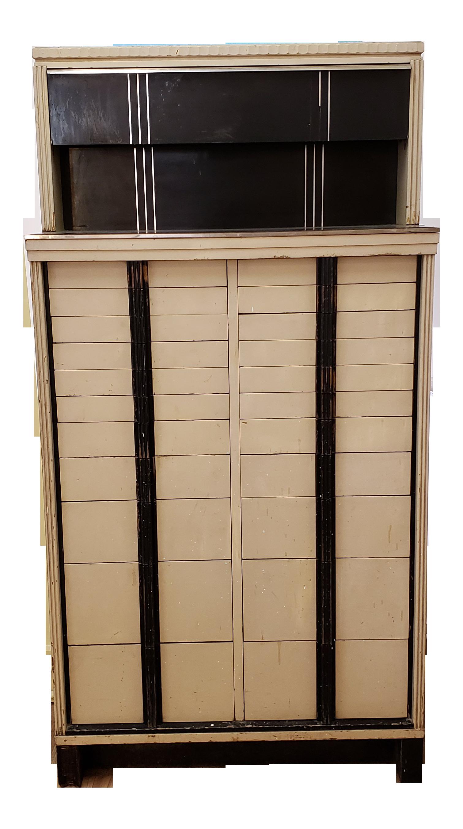 Vintage metal dresser hospital furniture 5 Yhome Art Deco Enameled Metal And Wood Dental Cabinet Pinterest Vintage Used Filing And Storage Cabinets For Sale Chairish