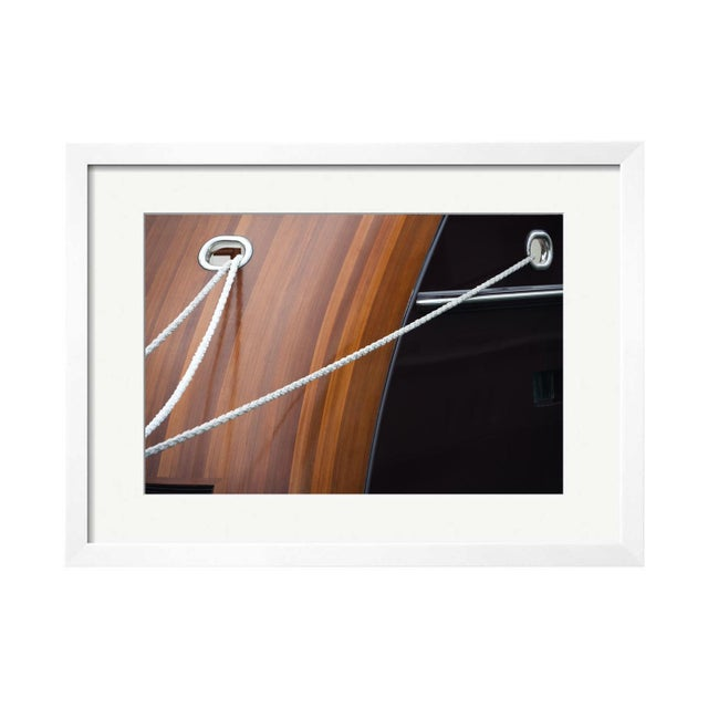 "Kristina Strobel ""Silent Mooring"" Framed Photo - Image 1 of 2"