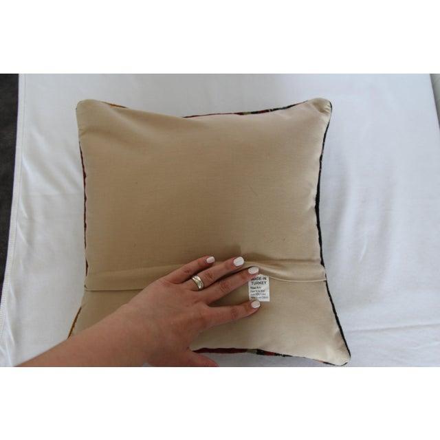 Turkish Kilim Pillow - Image 6 of 6