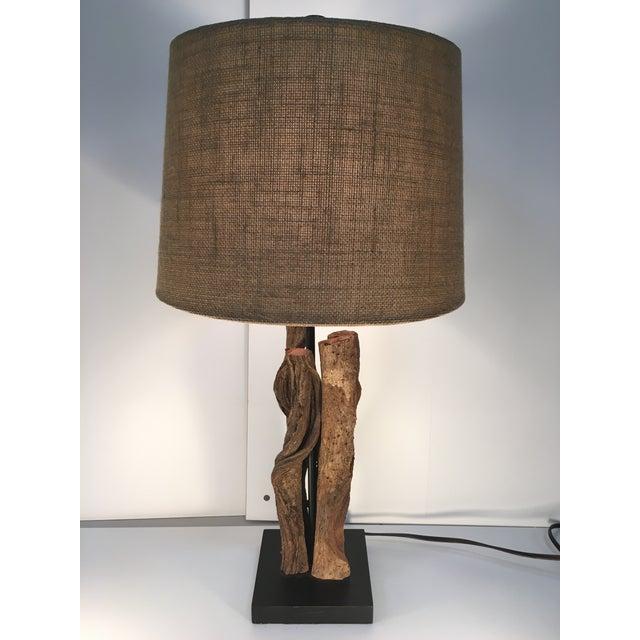 Organic Twig/Root Lamp - Image 2 of 6