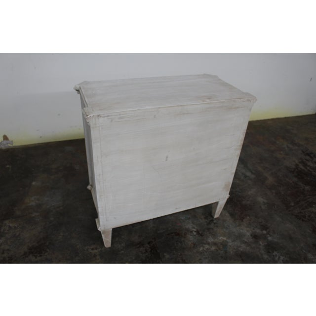 20th Century Vintage Swedish Gustavian Style Nightstands - a Pair For Sale - Image 9 of 10