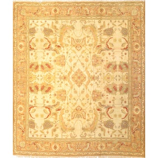 """Pasargad Antique Spanish Savanarie Hand-Knotted Rug - 12'x 14'1"""" For Sale"""