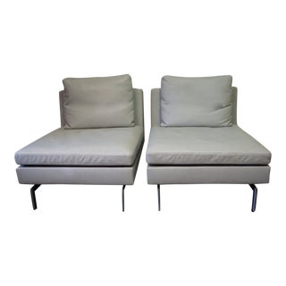 Stricto Sensu Fireside Chairs by Ligne Roset- Pair For Sale