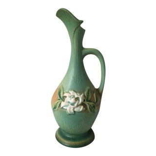 Roseville Gardenia Ewer For Sale