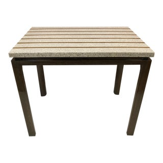 Terrazzo Top Table by Harvey Probber For Sale