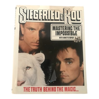 Siegfried and Roy Signed Book Mastering the Impossible For Sale