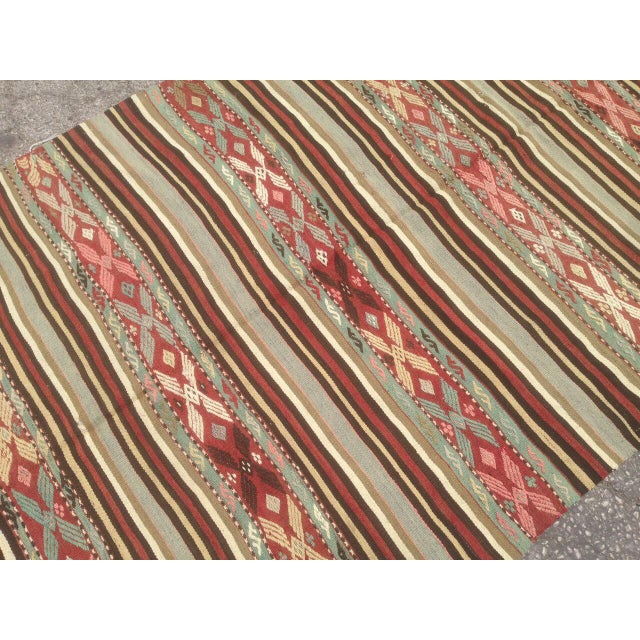 Traditional Anatolian Rug - 4′10″ × 7′ For Sale - Image 6 of 6