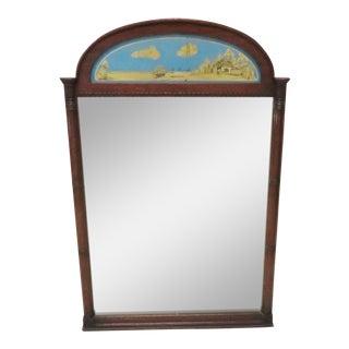 Empire Style Trumeau Mirror