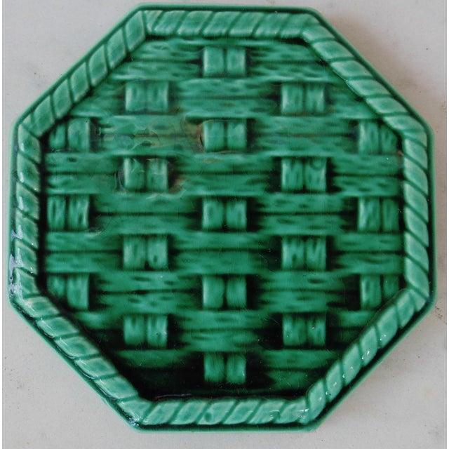 Green Wine Coaster Trivet - Image 3 of 3
