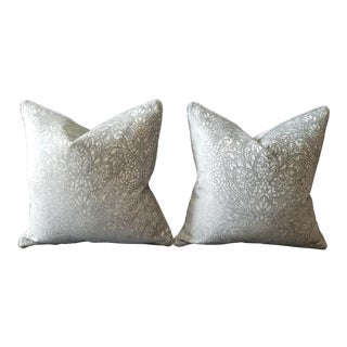 Candice Olson for Kravet Balsam / Vapor Pillow Covers - A Pair For Sale