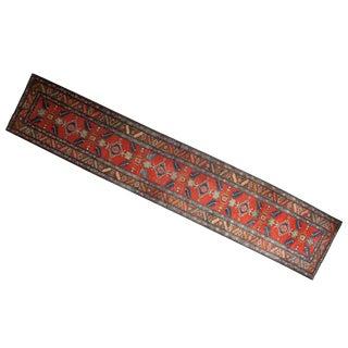 "Vintage Northwest Persian Rug Runner - 2'10"" X 14'5"""