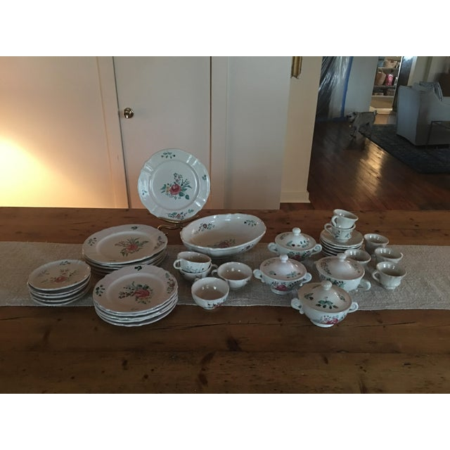 Antique Deruta Italy Pottery Dinnerware Set - 34 Pieces For Sale - Image 13 of 13