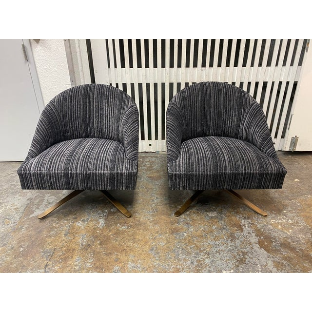Design Plus Gallery presents a Brand New Pair of Swivel Chairs by Lee Industries. These are custom design pieces that were...