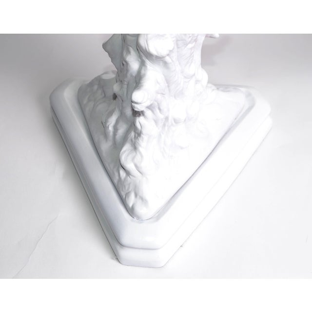 White Porcelain Tree Branches Table Lamps, Pair For Sale In Miami - Image 6 of 9