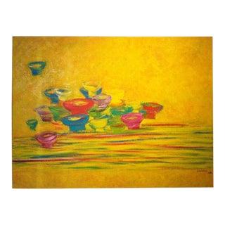 """Le Thiet Cuong, (1962-) Vietnam """"Bowls and Chopsticks"""", For Sale"""