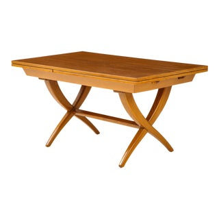 Guglielmo Pecorini Extension Dining Table For Sale