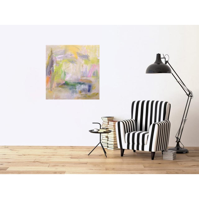 """Misty Morning"" by Trixie Pitts Abstract Expressionist Painting For Sale - Image 9 of 12"