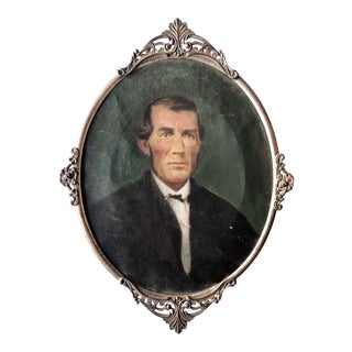 19th Century Oil Portrait of a Gentleman For Sale