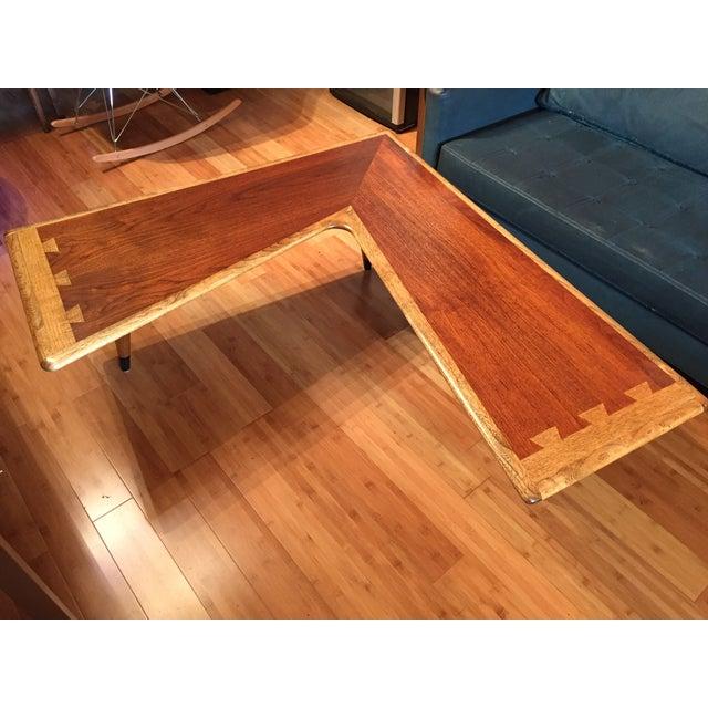 Brown Lane Acclaim Boomerang Coffee Table For Sale - Image 8 of 11