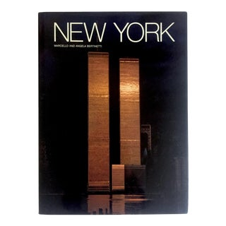 """ New York "" Marcello & Angela Bertinetti Vintage 1984 1st Edtn Hardcover Photography Book For Sale"