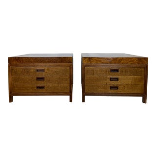 1950s Glenn of California Side Tables/Nightstands - a Pair For Sale
