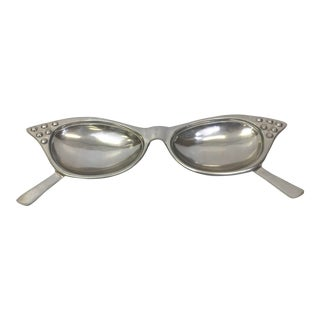 Vintage Pop Culture Eye Glasses Catch All Dish For Sale