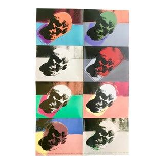 Vintage Andy Warhol Exhibit Poster