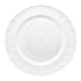 """Terra White 11"""" Melamine Dinner Plate, Set of 4 For Sale"""