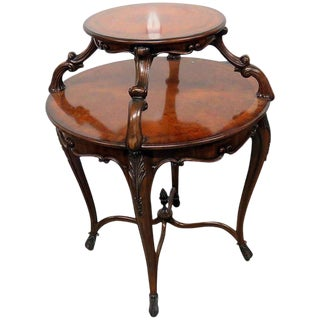 Regency Style Dessert Table For Sale