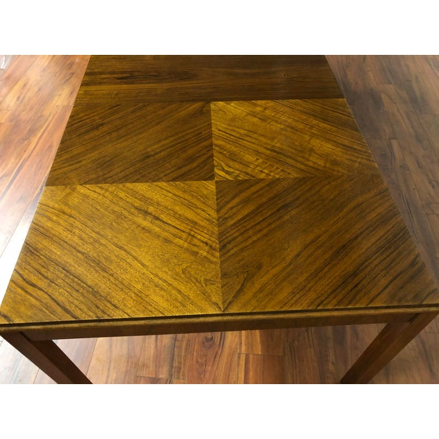 Maurice Villency Expandable Dining Table For Sale - Image 10 of 13