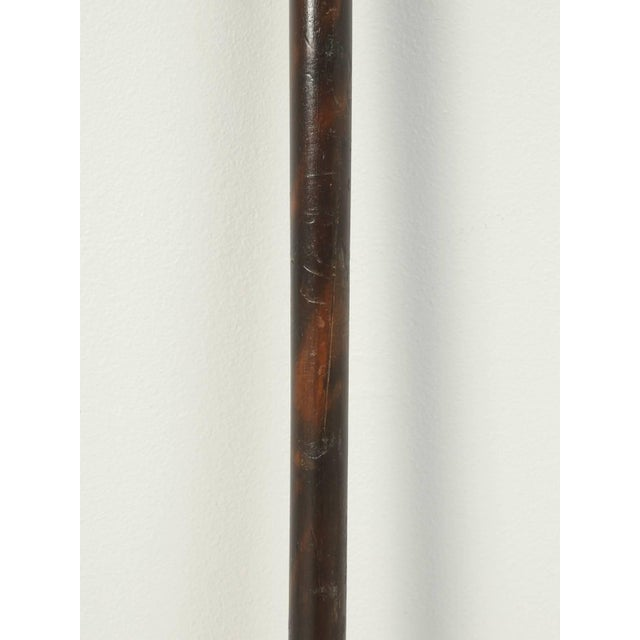 1940s Antique French Walking Stick or Cane For Sale - Image 5 of 7