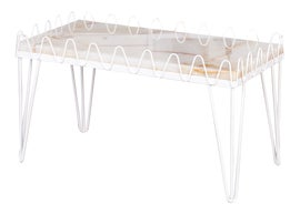 Image of Newly Made White Coffee Tables