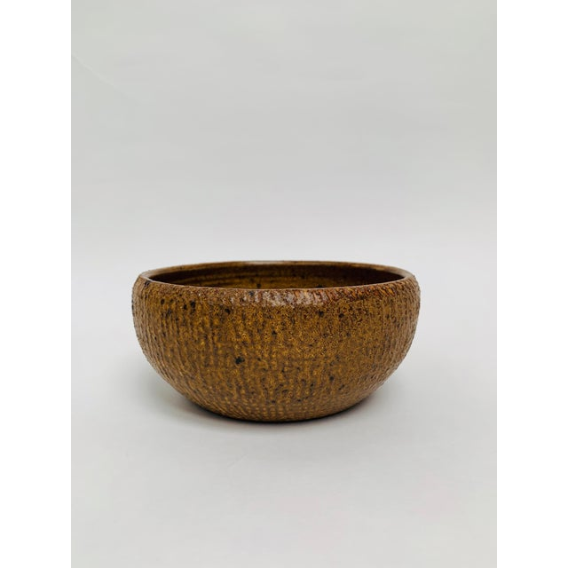 Mid-Century Modern George Scatchard Mid Century Modern Studio Pottery Bowl For Sale - Image 3 of 10