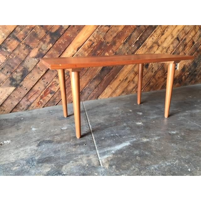 Hand Made Mid-Century Style Coffee Table - Image 4 of 6